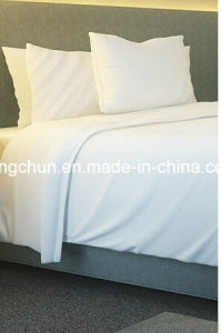 50%Cotton 50%Polyester Hotel Bed Sheet Set pictures & photos