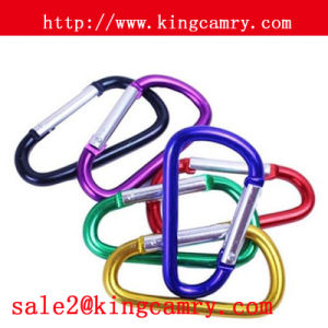 D Shaped Carabiner Aluminum Mountain Climbing Carabiner Aluminum Carabiner pictures & photos