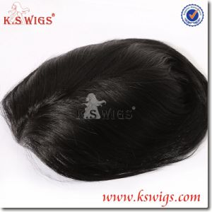 Top Quality Men′s Toupee Virgin Remy Hair Human Hair pictures & photos