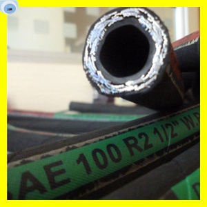 Hydraulic Hose Pipe Hydraulic Hose Smooth Finish Rubber Hose Pipe pictures & photos