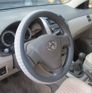 Bt 7158 The Production of Wholesale Leather Imitation Leather Steering Wheel Covers pictures & photos