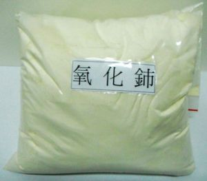 Samples Free! ! ! 2015! ! ! Rare Earth 99...99% 99.999%Cerium Ceric Oxide Glass Polishing Yellow Powder pictures & photos