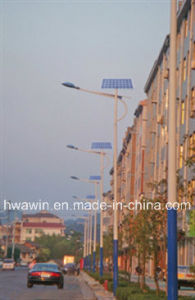 CE, RoHS, FCC Approved Solar Street Light with High Quality pictures & photos