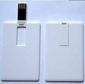 256MB Credit Card USB Flash Drive with Customer Logo pictures & photos