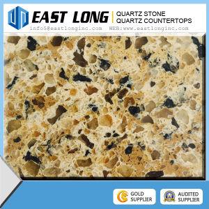 Double Color Artificial Stone Quartz Slab Quartz Stone Building Material pictures & photos