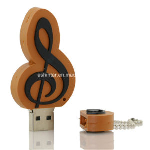 USB Pendrive U Disk Cartoon Musical Notation USB Flash Drive pictures & photos