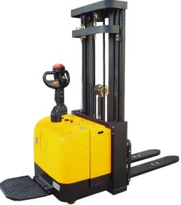 1.2-2.0t Hecha Forklift Full Electric Stacker (AC/DC Power) pictures & photos