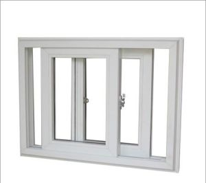 High-End UPVC Window PVC Sliding Window Hot Sale China Supplier pictures & photos