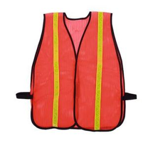 Reflective Mesh Safety Vest with PVC Tape pictures & photos
