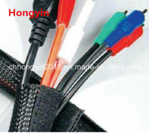 RoHS Hy-Vcw Cable Cover Hook & Loop Braided Wrap Sleev pictures & photos