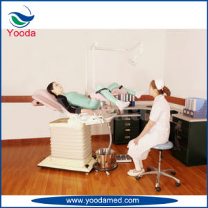 Hospital Medical Examination Table with Drawers pictures & photos