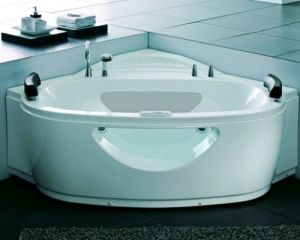 Simeple and Usefull Bathroom Acrylic Massage Bathtub (SR523) pictures & photos