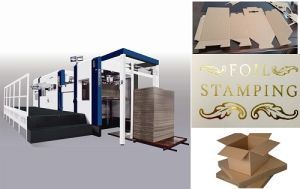 China Sinopoly Hot Stamping Machine pictures & photos