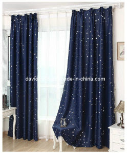 Gold Shiny Blackout Pinch Pleated Window Curtain (SZSMEBP044)