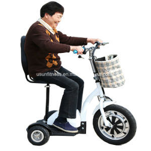 2017 Cheap Three Wheels Electric Scooter with Baby Seats pictures & photos