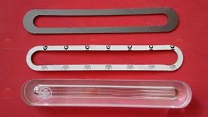 Transparent Reflex Gauge Glass DIN 7081