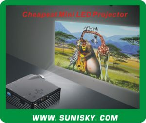 Smp7043 Cheap Mini Pocket Home Theater Projector pictures & photos