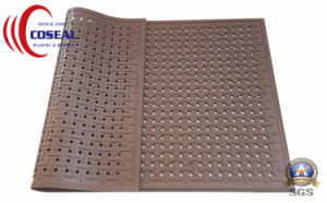 Dog-Bone Drainage Rubber Mat for Floor