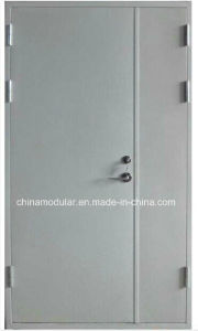 Primary-Secondary Steel Door for Warehouse (CHAM-PSD01) pictures & photos