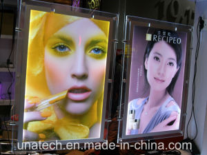 New Wall-Mounted Crystal LED Light Box pictures & photos