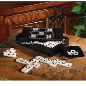 MDF Wood Classics Domino & Tic-Tac Toe Games pictures & photos