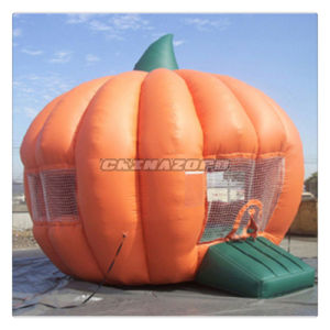 Great Pumpkin Shaped Bouncer Inflatable Moonwalk Castle Factory Price