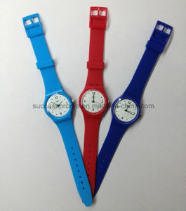 Silione Sports Analog Watch with Quartz Movement for Student pictures & photos