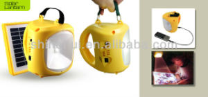 Portable Solar LED Camping Lantern with USB and Mobile Charge pictures & photos