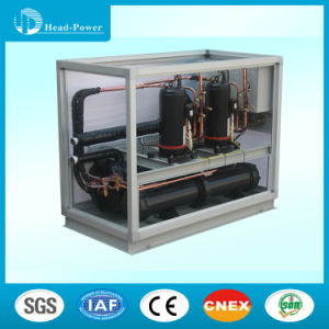 50kw HVAC Water Cooled Scroll Type Water Chiller pictures & photos