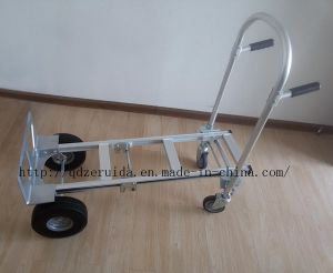 Load Capacity up to 350 Kgs Aluminum Convertible Hand Truck pictures & photos