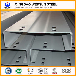 Multi Purpose Q235B Pre-Galvanized Angle Steel High Quality Steel C Channel pictures & photos