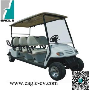 6 Seat Electric Golf Buggy in Promotions, CE Approved pictures & photos
