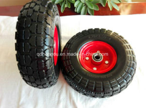 Factory Hot Sale 10 Inch Solid Rubber Wheel pictures & photos