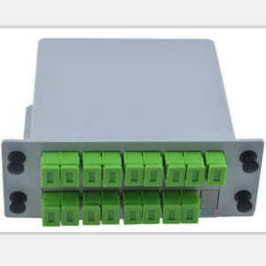1X16 FTTH Box Fiber Optic PLC Splitter pictures & photos