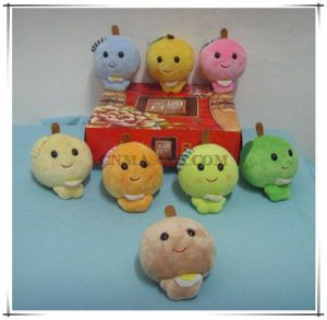 Model Stuffed Toy Mini Apple Fruit Plush Toy for Sale