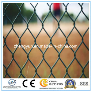 High Quality PVC Coated Chain Link Fence Boundary Fence pictures & photos
