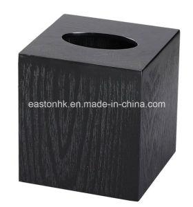 Ash Wood Square Tissue Storage Napkin Box Tissue Box pictures & photos