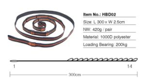 Hammock Tree Straps with Heavy Duty Extra Long Lightweight with Adjustable Loops pictures & photos