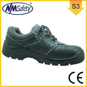 Nmsafety Cow Leather Food Industry Safety Shoes pictures & photos