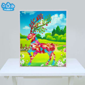 Factory Cheapest Wholesale Children DIY Embroidery Cross Stitch K-126 pictures & photos