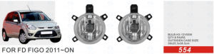 Front Fog Lamp for Ford Figo 2011-on