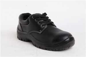 Fashion Industrial Protective Working Foowear Leather/PU Safety Shoes