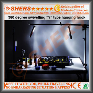 24 LED Work Light Magnetic Backside Hanging Hook pictures & photos