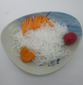 Allergens Free Japanese Brc/ FDA Tasteless Pure Konjac Shirataki Spaghetti Noodles pictures & photos