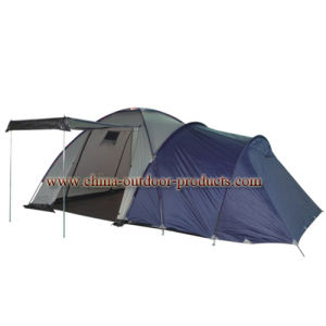 4persons 190t Polyester Outdoor Camping Tent (Monyana) Double Layer (ETA01312) pictures & photos