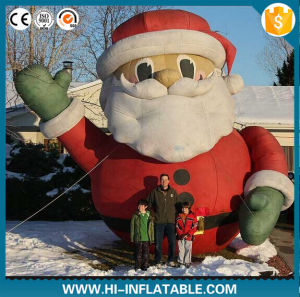 2016 Lovely Christmas Decoration Inflatable Santa Claus, Santa Claus Inflatable