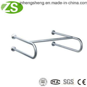 316 Stainless Steel Bathroom Furniture Folding Grab Bars pictures & photos