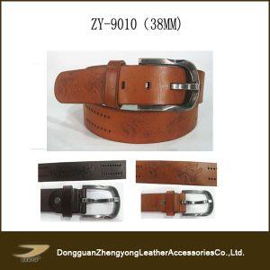Fashion Mens Embossed Belt (ZY-9010)