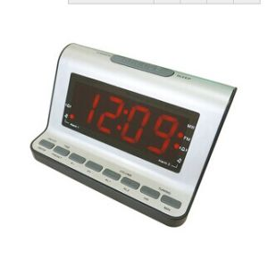 "1.4"" Pll Am/FM LED Alarm Clock Radio Receiver"