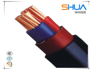Flame Retardant, Copper Conductor, XLPE Insulation, PVC Sheathed, Steel Wire Screen/Armored, Single Core Power Cable pictures & photos
